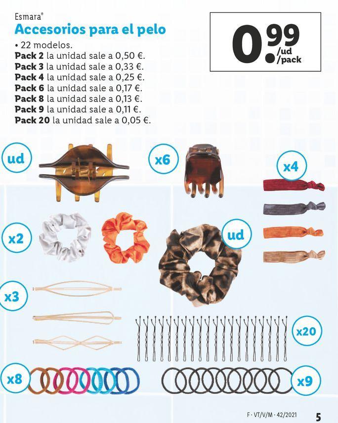 Oferta de Accesorios por 0,99€