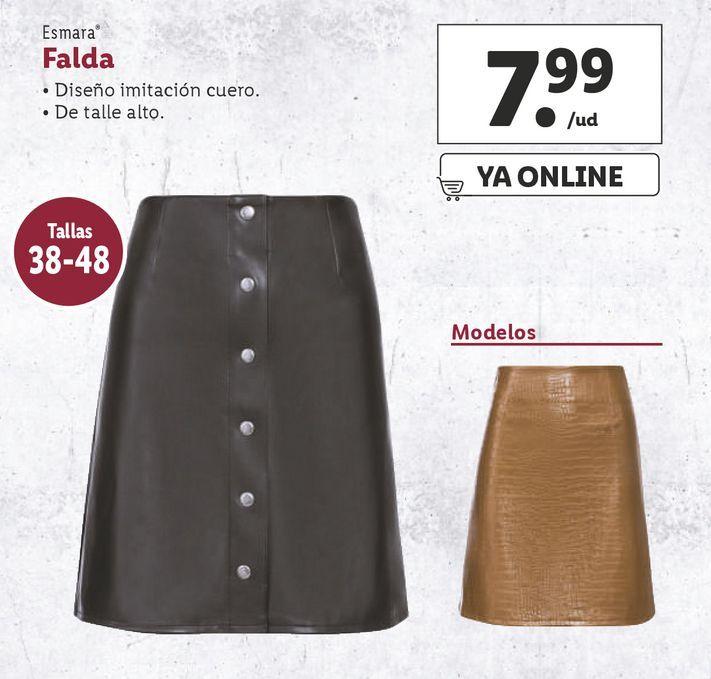 Oferta de Faldas esmara por 7,99€
