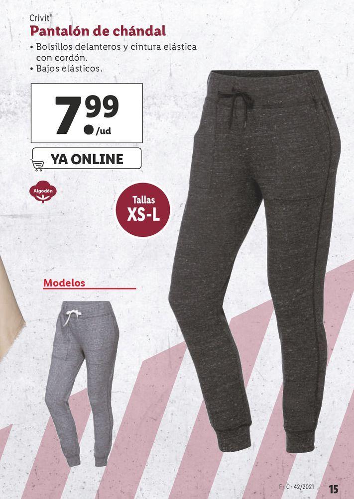Oferta de Pantalones Crivit por 7,99€