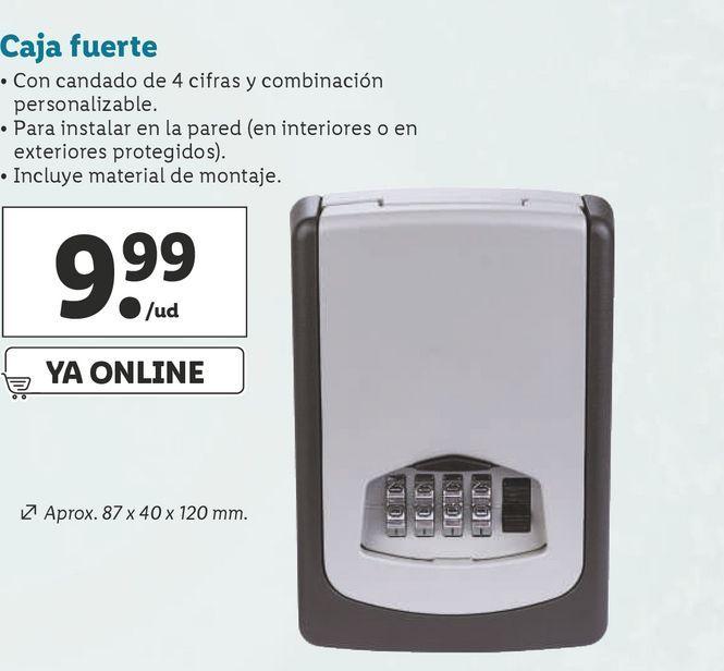 Oferta de Caja fuerte por 9,99€