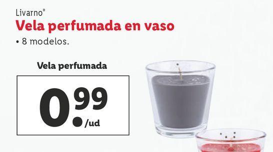 Oferta de Vela perfumada Livarno por 0,99€