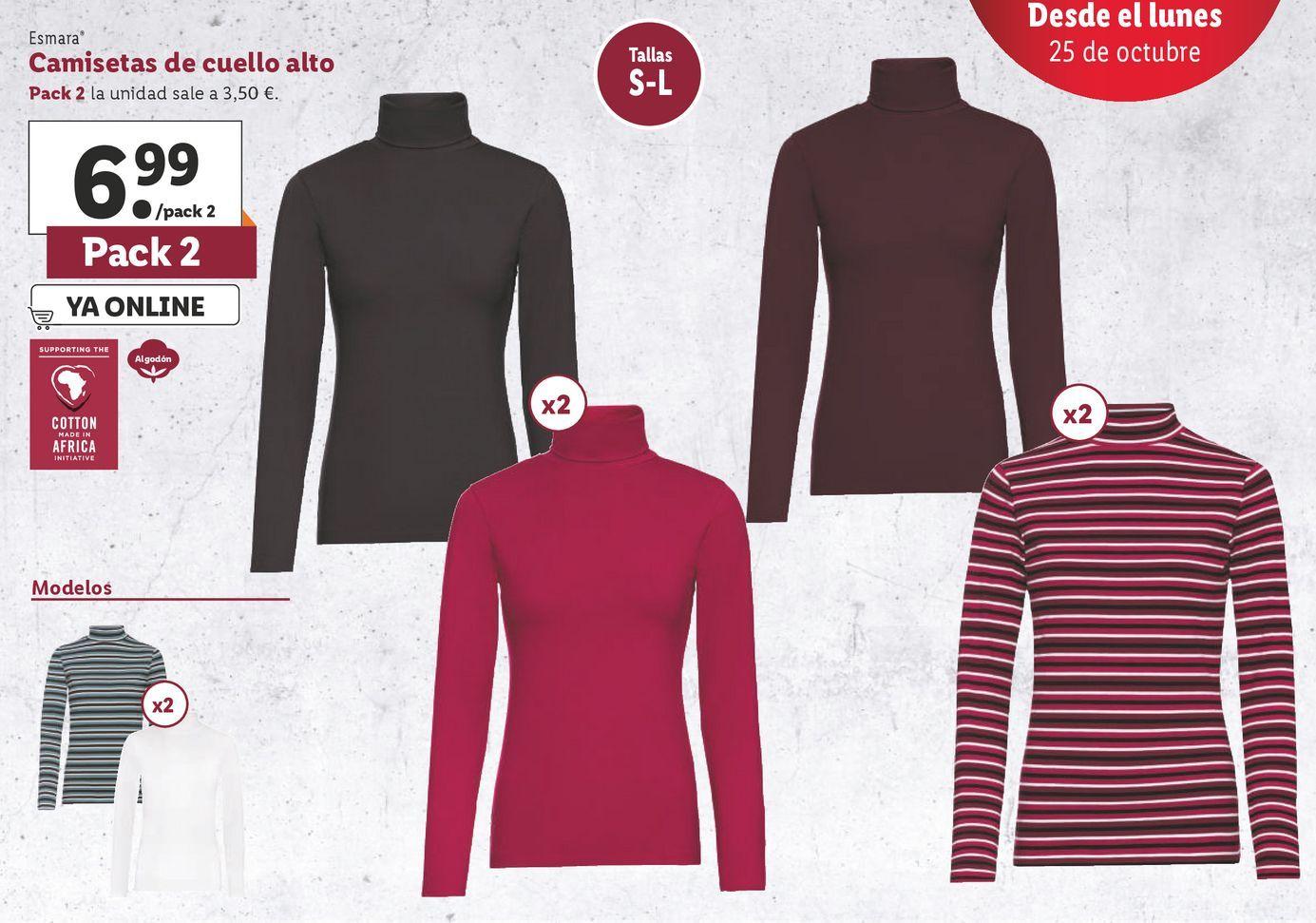 Oferta de Camiseta mujer esmara por 6,99€