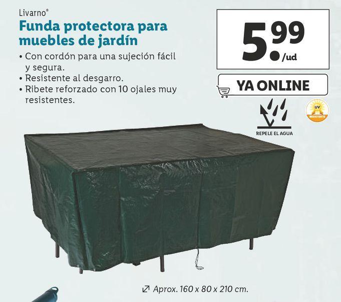 Oferta de Fundas Livarno por 5,99€