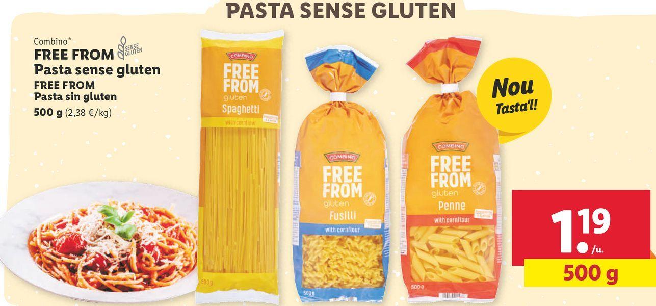 Oferta de Pasta sin gluten combino por 1,19€