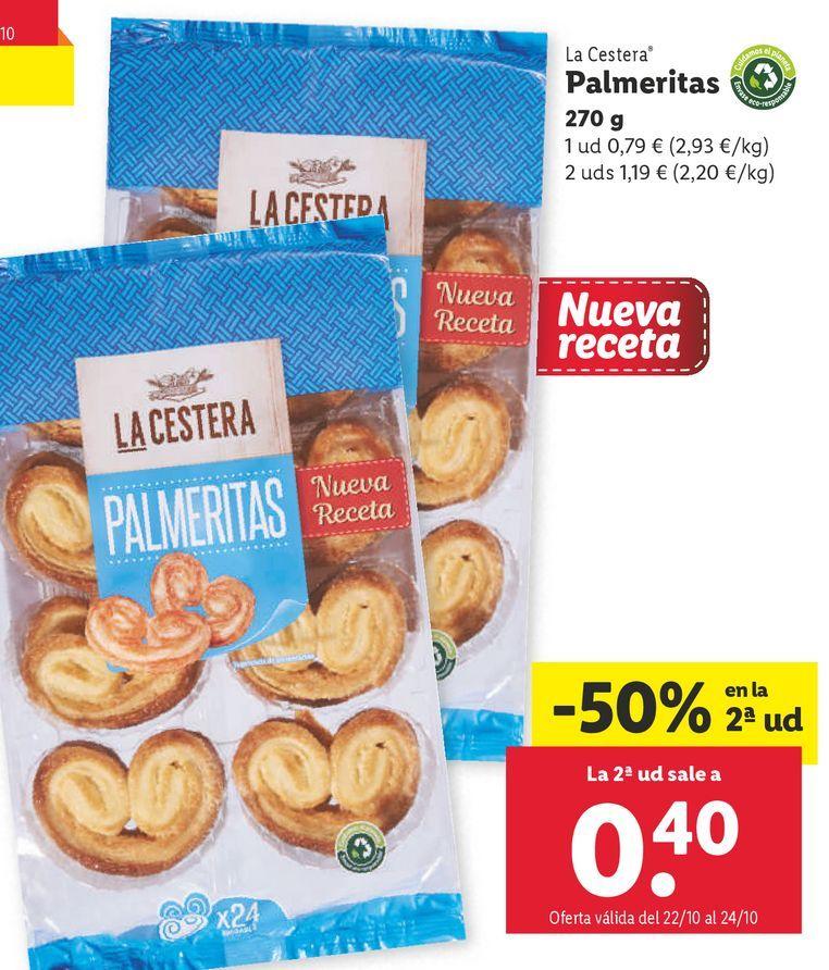 Oferta de Palmeras La Cestera por 0,79€