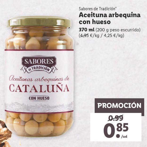 Oferta de Aceitunas por 0,85€