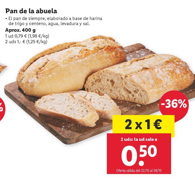 Oferta de Pan por 0,79€