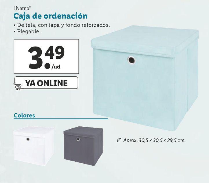 Oferta de Caja de ordenación por 3,49€