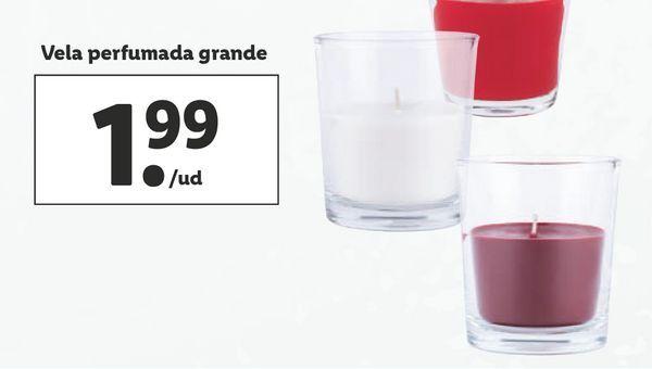Oferta de Vela perfumada Livarno por 1,99€