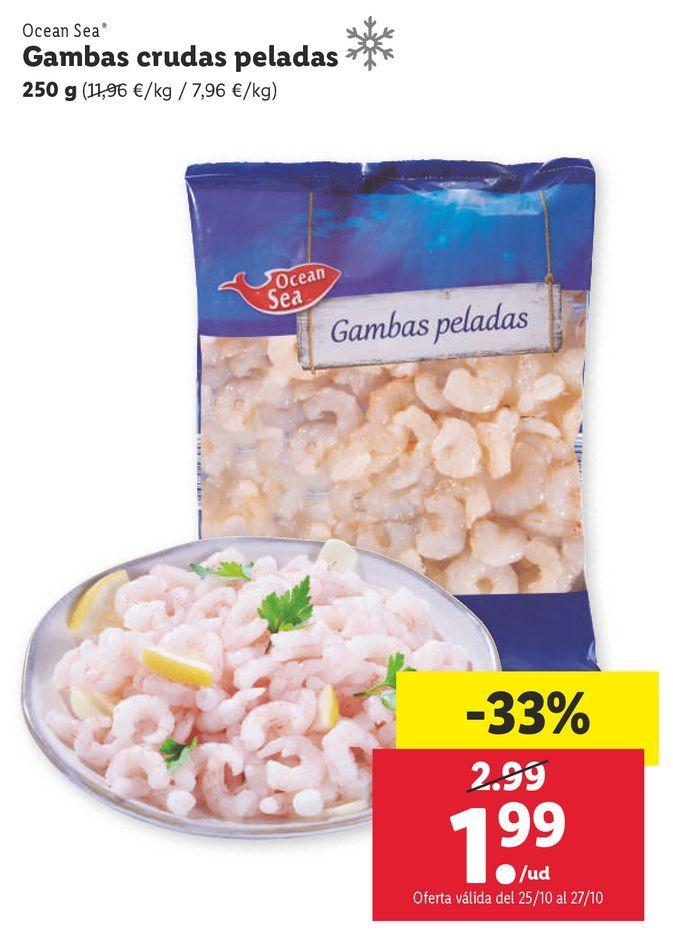 Oferta de Gambas ocean sea por 1,99€