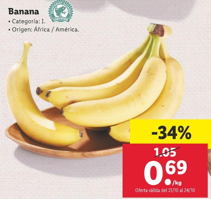 Oferta de Bananas por 0,69€