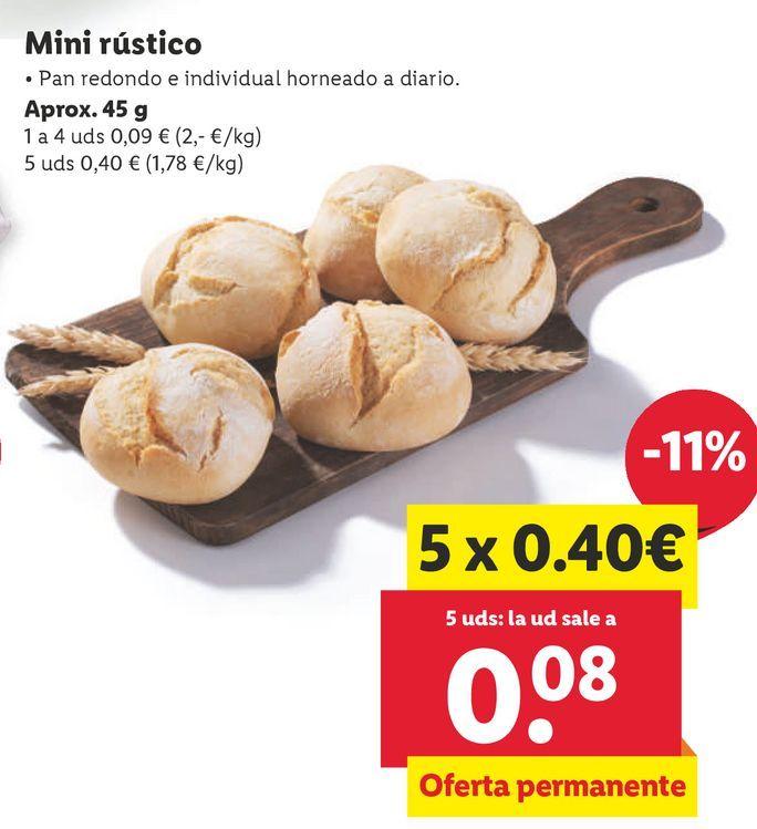 Oferta de Pan por 0,09€