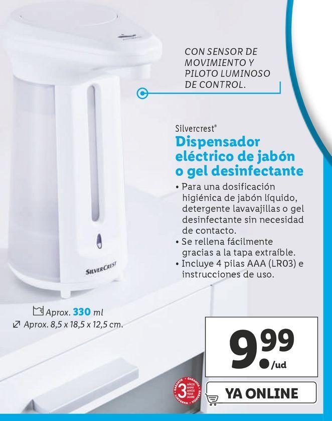 Oferta de Dispensador de jabón por 9,99€
