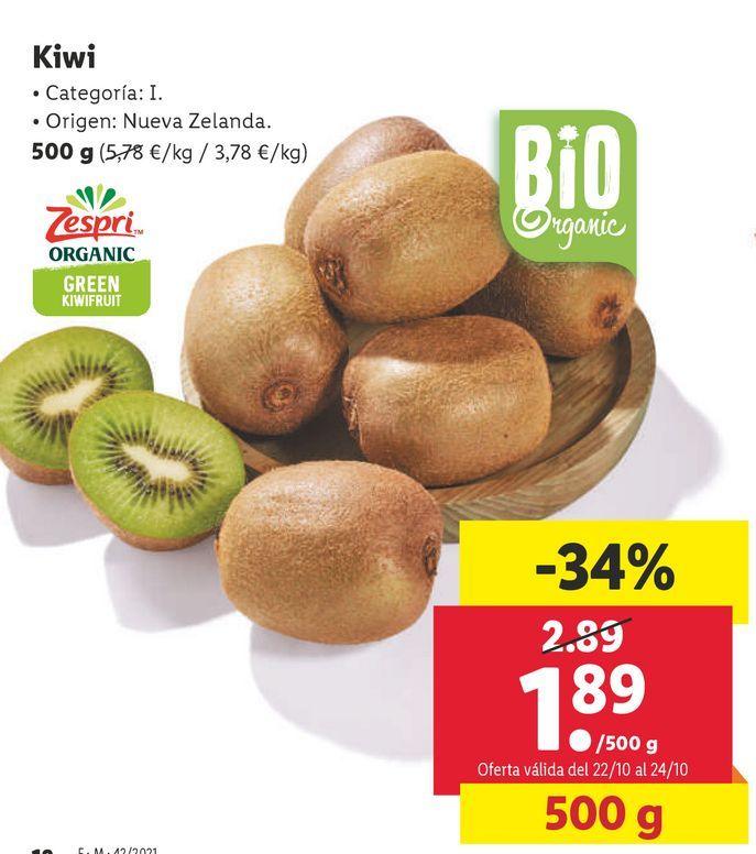 Oferta de Kiwis por 1,89€