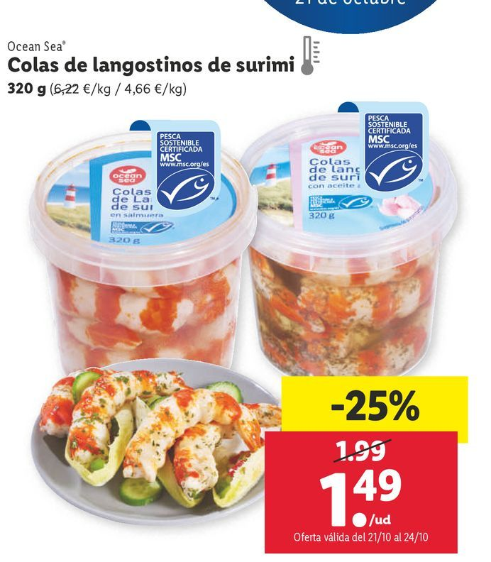 Oferta de Surimi por 1,49€