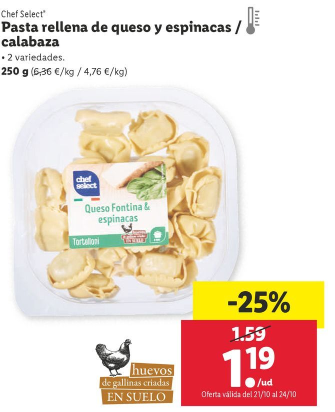 Oferta de Pasta por 1,19€