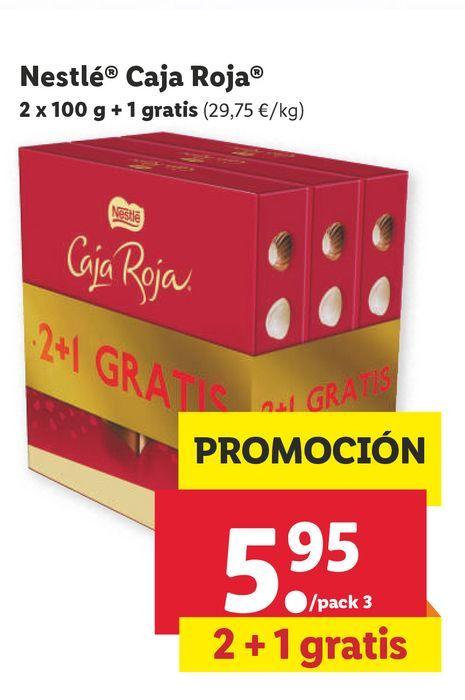 Oferta de Chocolate Nestlé por 5,95€