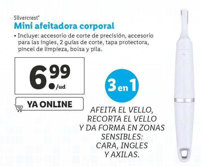 Oferta de Afeitadora SilverCrest por 6,99€