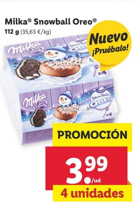 Oferta de Postres Milka por 3,99€