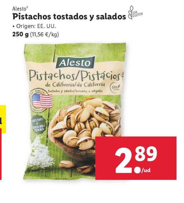 Oferta de Pistachos por 2,89€