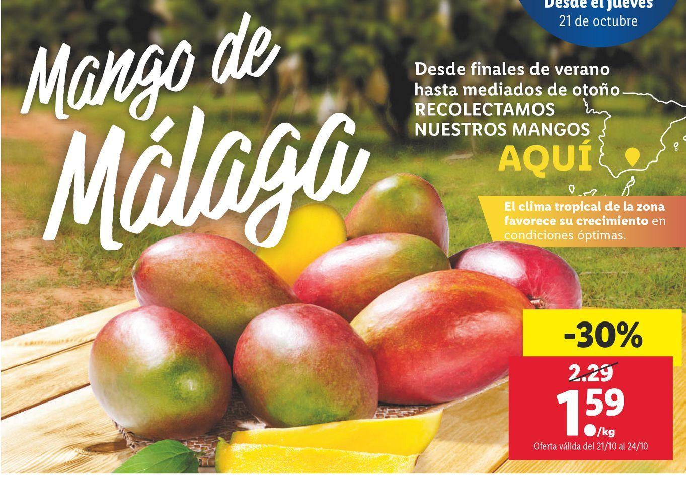 Oferta de Mangos por 1,59€