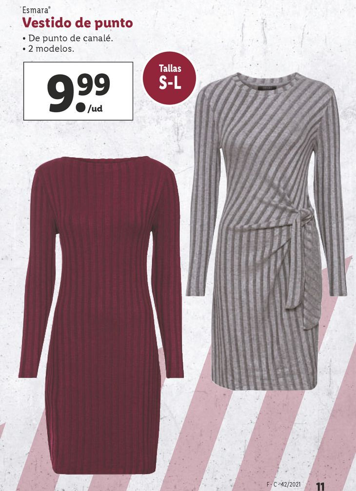 Oferta de Vestido de punto esmara por 9,99€