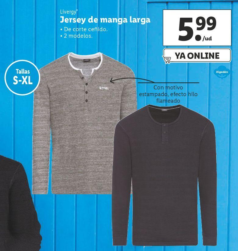 Oferta de Jersey Livergy por 5,99€