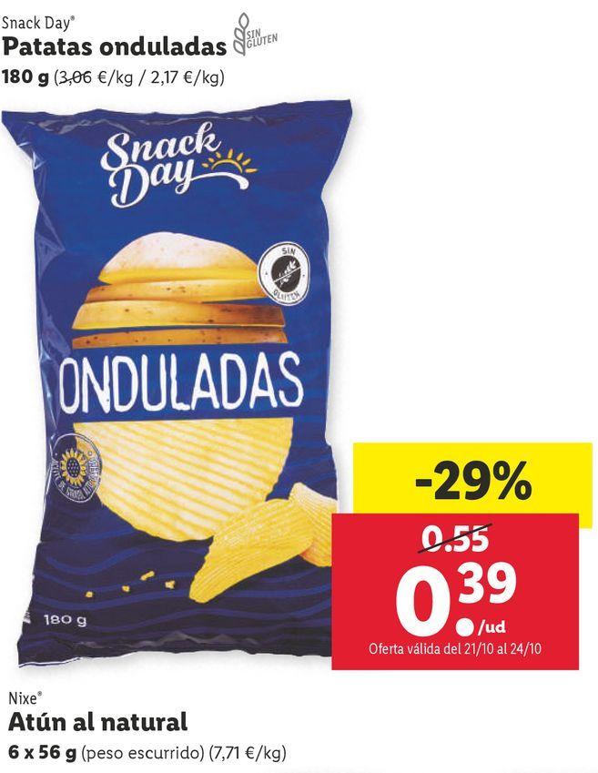 Oferta de Patatas por 0,39€