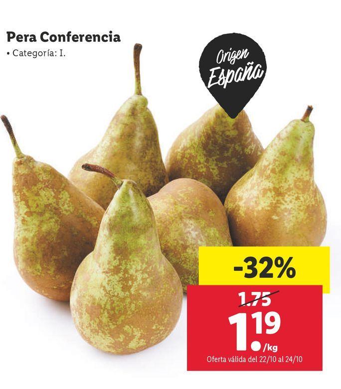 Oferta de Peras por 1,19€