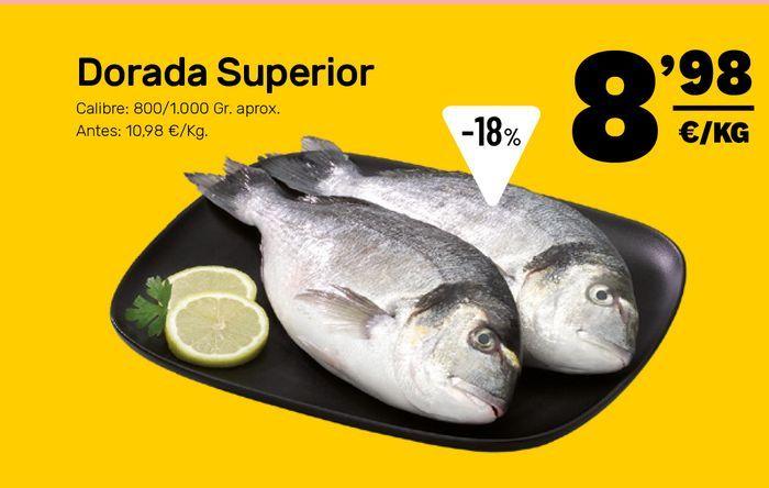 Oferta de Dorada por 8,98€