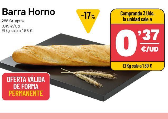 Oferta de Pan  por 0,37€