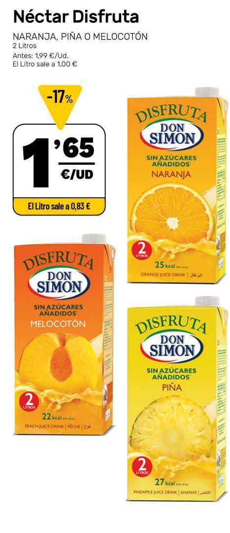 Oferta de Néctar Disfruta por 1,65€