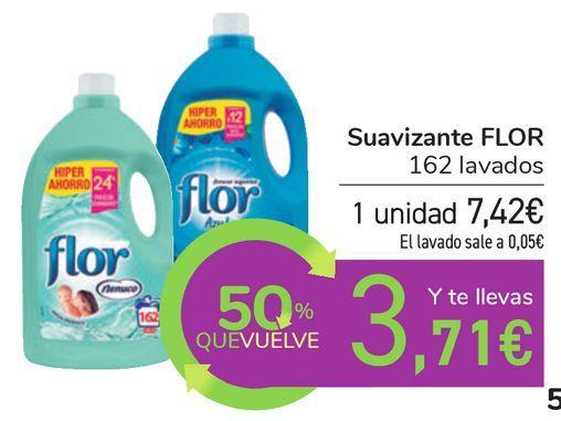 Oferta de Suavizante FLOR  por 7,42€
