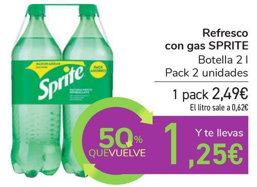 Oferta de Refresco con gas SPRITE por 2,49€