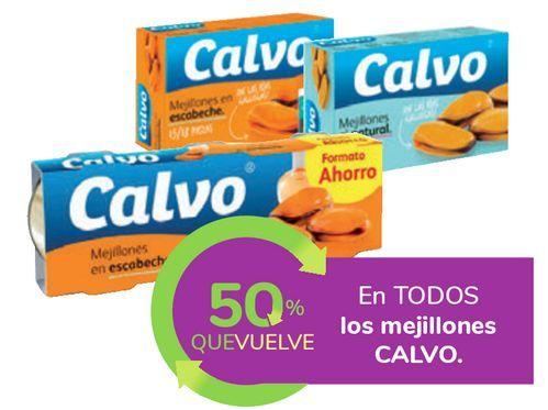 Oferta de En TODOS los mejillones CALVO por