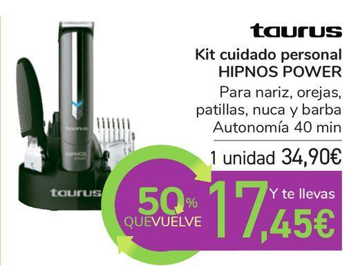 Oferta de Taurus Kit cuidado personal HIPNOS POWER por 34,9€