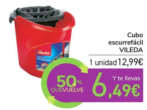 Oferta de Cubo escurrefácil VILEDA por 12,99€