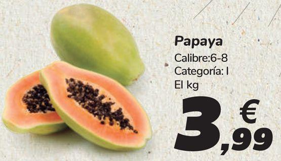 Oferta de Papaya  por 3,99€