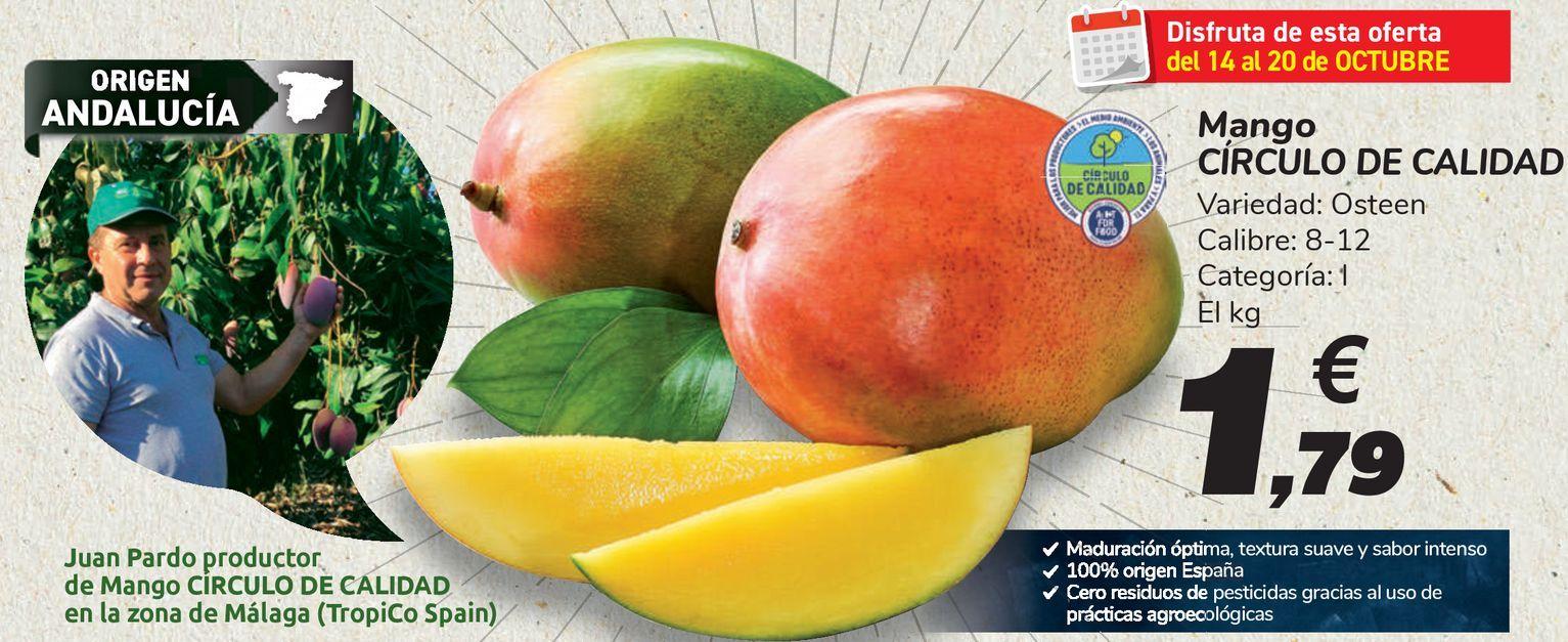 Oferta de Mango CÍRCULO DE CALIDAD  por 1,79€