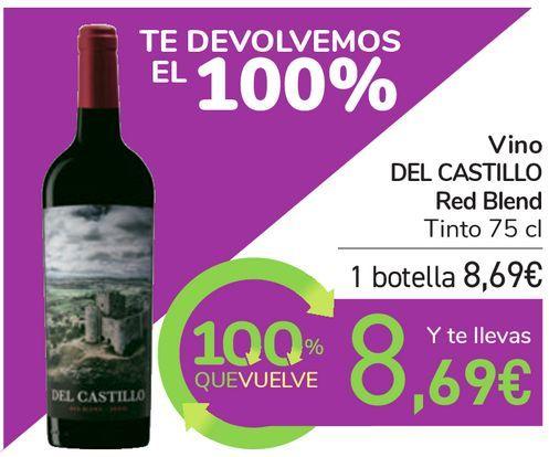 Oferta de Vino DEL CASTILLO Red Blend  por 8,69€