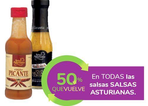 Oferta de En TODAS las salsas SALSAS ASTURIANAS por