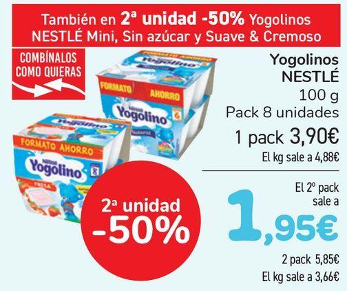 Oferta de Yogolino NESTLÉ  por 3,9€