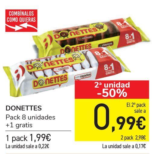 Oferta de DONETTES  por 1,99€