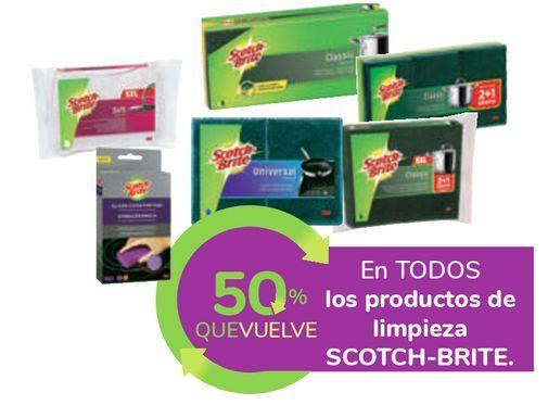 Oferta de En TODOS los productos de limpieza SCOTCH-BRITE por