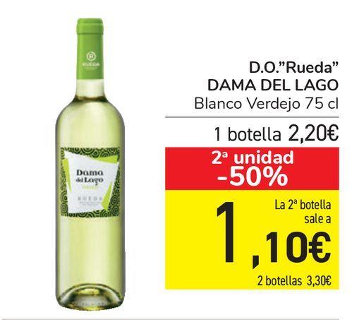 Oferta de D.O. ''Rueda'' DAMA DEL LAGO  por 2,2€