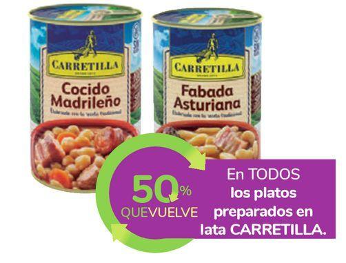 Oferta de En TODOS los platos preparados en lata CARRETILLA por