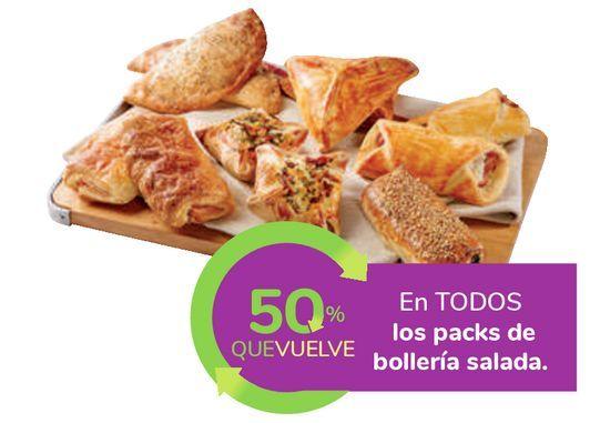 Oferta de En TODOS los packs de bollería salada por