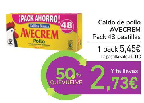 Oferta de Caldo de pollo AVECREM  por 5,45€