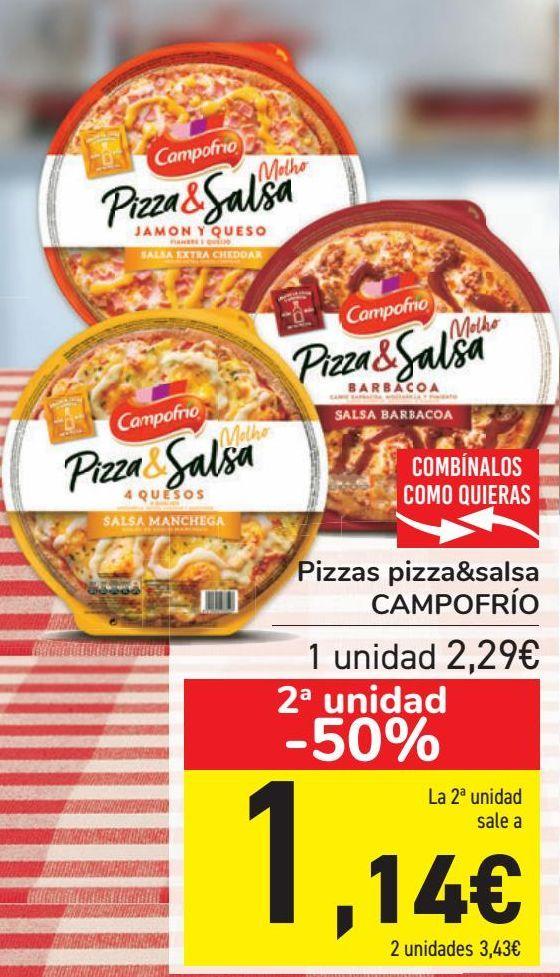 Oferta de Pizzas pizza&salsa CAMPOFRÍO  por 2,29€