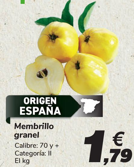 Oferta de Membrillo granel  por 1,79€